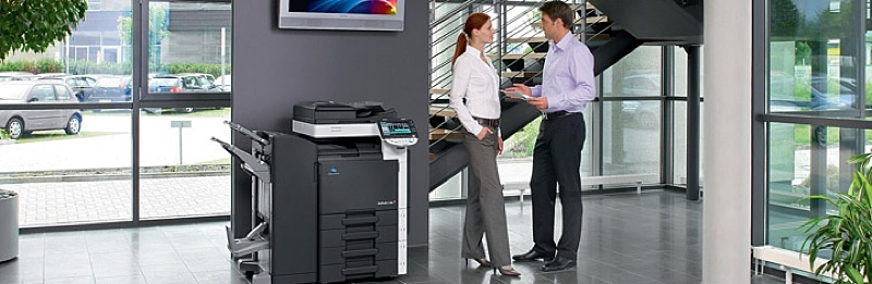 How To Get Your PC Print Konica Minolta Bizhub