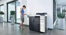 Bizhub Business Copier in workplace 3